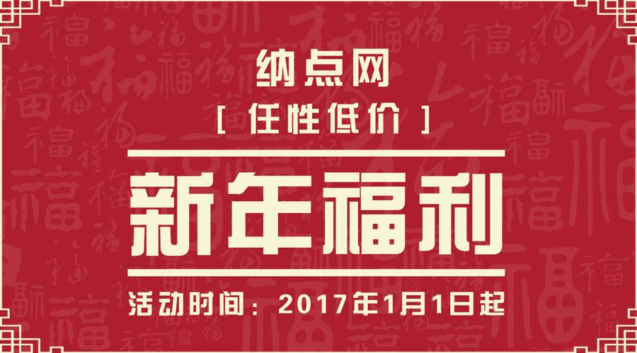 纳点网.CN 13元新年特辑
